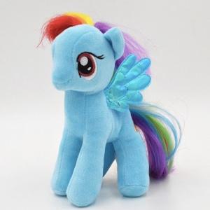 Peluche poupée licorne bleue Peluche Licorne Peluche Fantastique Matériaux: Coton