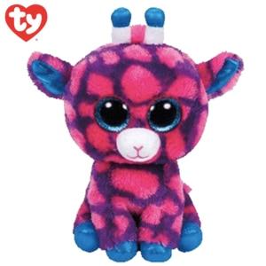 Peluche girafe TY rose et bleue Peluche Girafe Peluche Animaux a7796c561c033735a2eb6c: Rose