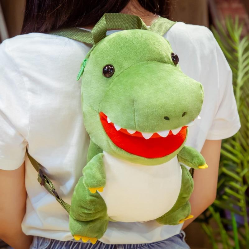 Sac à dos peluche tyrannosaure Sac à dos peluche Tranche d'âge: > 3 ans