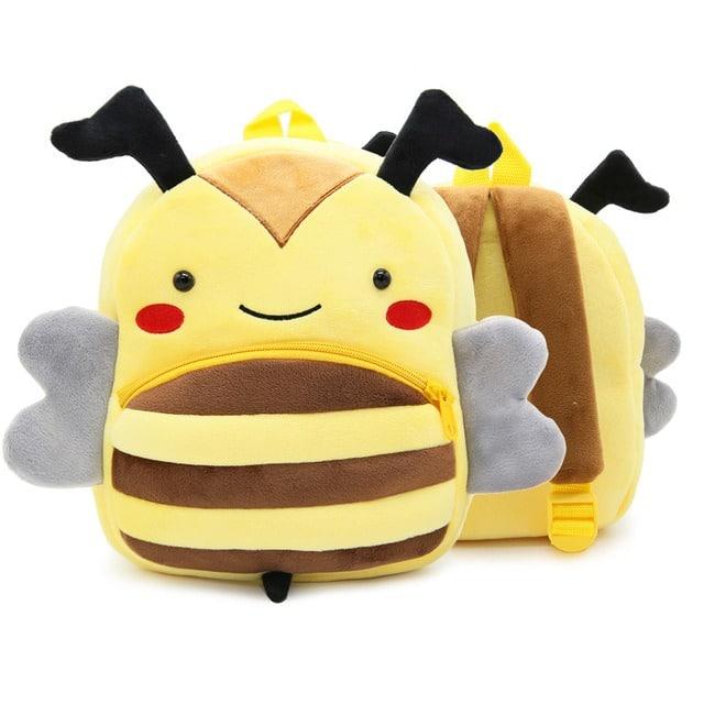 Sac à dos en peluche abeille Sac à dos peluche a7796c561c033735a2eb6c: Jaune Noir