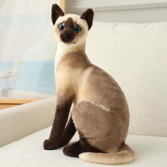 Peluche chat tigré gris Peluche Chat Peluche Animaux 87aa0330980ddad2f9e66f: 20cm|25cm|35cm|45cm