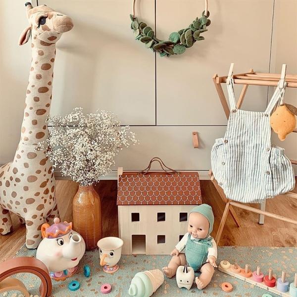 Peluche girafe câline Peluche Girafe Peluche Animaux Matériaux: Coton