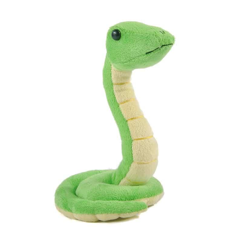 Peluche serpent vert trop mignon Peluche Serpent Peluche Animaux Tranche d'âge: > 3 ans