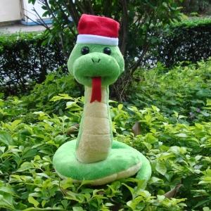 Peluche serpent Noël Peluche Serpent Peluche Animaux Tranche d'âge: > 3 ans