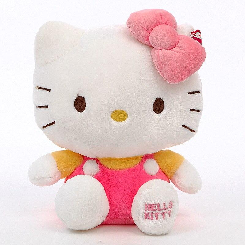Peluche Hello Kitty mignonne Rose Peluche Hello Kitty Peluche Manga Matériaux: Coton