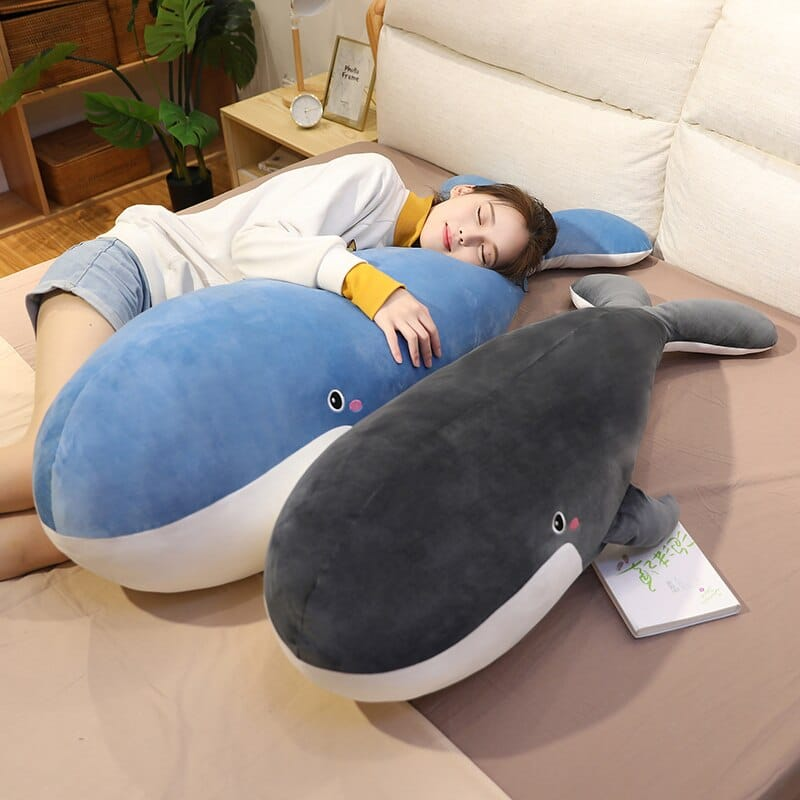 Peluche Baleine géante bleue Peluche Baleine Peluche Animaux Matériaux: Coton