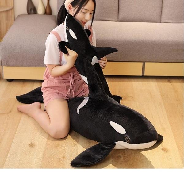 Peluche Orque géante Peluche Baleine Peluche Animaux Matériaux: Coton
