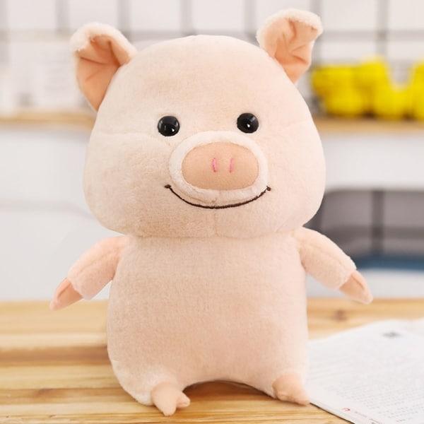 Peluche cochon heureux Peluche Cochon Peluche Animaux 87aa0330980ddad2f9e66f: 25cm
