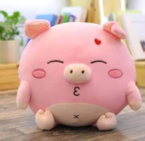Peluche cochon amoureux Peluche Cochon Peluche Animaux 87aa0330980ddad2f9e66f: 30cm 40cm 60cm