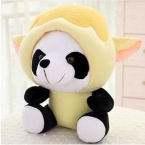 Peluche panda déguisé en mouton Peluche Panda Peluche Animaux 87aa0330980ddad2f9e66f: 20cm|40cm