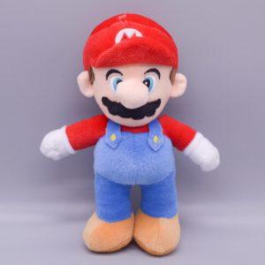 Peluche Luigi tenue blanche et verte Peluche Mario Matériaux: Coton