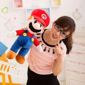 Peluche Super Mario adorable Peluche Mario Matériaux: Coton