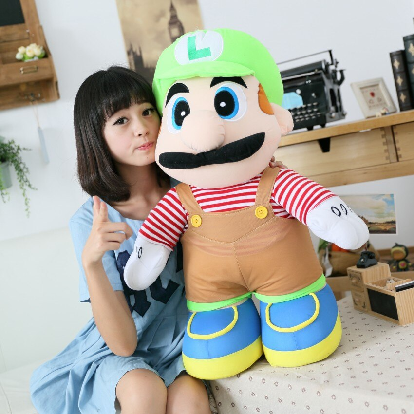 Grande peluche Super Mario tout mignon Peluche Mario Matériau: Coton