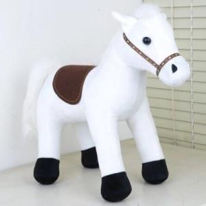 Peluche cheval blanc adorable Peluche Cheval Matériaux: Coton