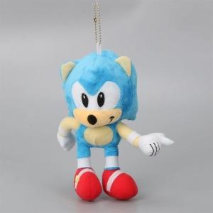 Peluche porte-clé hérisson Sonic Peluche Sonic Matériaux: Coton