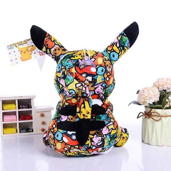 Peluche Pikachu Street Art Peluche Pikachu Peluche Pokemon Taille: 13cm
