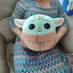 Peluche bébé Yoda grogu Peluche Baby Yoda Peluche Disney Matière: Cotton