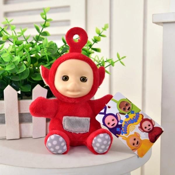 Petite peluche Teletubbies pendentif pour bébé Peluche Télétubbies Peluche Animaux Couleur: Rouge