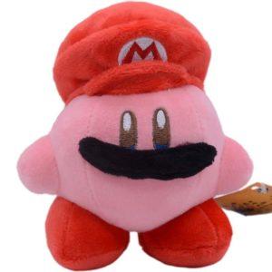 Petite peluche Kawaii Kirby déguisé en Mario Peluche Kawaii Kirby Peluche Jeu Vidéo a7796c561c033735a2eb6c: Rouge