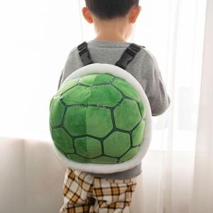 Sac à dos tortue Mario en peluche pour enfant Peluche Mario Sac à dos peluche Matériaux: Coton